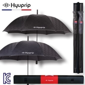 [우산선물세트]협립 70 엠보 바이어스 자동 골프우산 홀인원세트