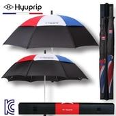 [우산선물세트]협립 77+65 태극컬러 방풍 수동 골프우산 홀인원세트