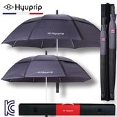 [우산선물세트]협립 77+65 네이비 방풍 자동 골프우산 홀인원세트