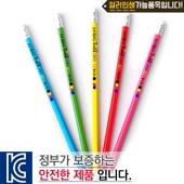 (컬러인쇄)육각지우개연필