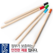 원목컬러원형미두연필