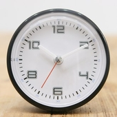 엘디자인블랙화이트 흡착방수시계