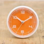 엘디자인화이트오렌지 흡착방수시계