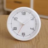 엘디자인화이트화이트 흡착방수시계