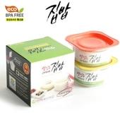 맛있는 집밥1호2종(4p)밀폐용기