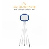 DV 4 in 1 멀티충전케이블