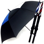 [이중방풍우산]콤비75 이중방풍 자동 골프우산