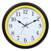 [벽시계]오랜지링블랙벽시계