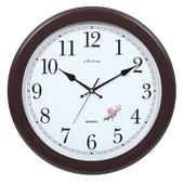 [벽시계]장미자판월넛벽시계