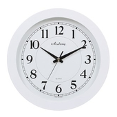 [벽시계]화이트흰자판벽시계