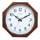 [벽시계]팔각도금링벽시계