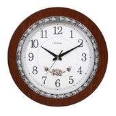 [벽시계]아래꽃실버벽시계