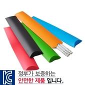 백색원형지우개연필 종이케이스3p