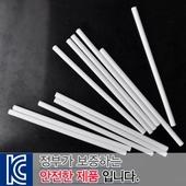 백색원형미두연필