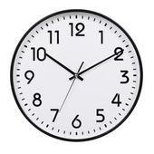 [벽시계]원형입체숫자벽시계300