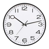 [벽시계]원형심플벽시계300