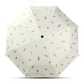 나뭇잎 3단 우산