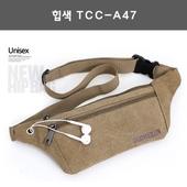 [허리쌕]힙색 TCC-A47/크로스백.캔버스가방