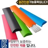 백색원형지우개연필 종이케이스5p