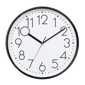 [벽시계]원형크롬벽시계337