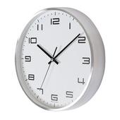 [벽시계]심플알류미늄벽시계300