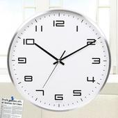[벽시계] 원형알류미늄벽시계260