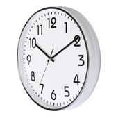[벽시계]입체숫자벽 금속크롬벽시계300