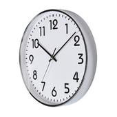 [벽시계]크롬입체숫자벽시계300