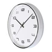 [벽시계]금속크롬벽시계300