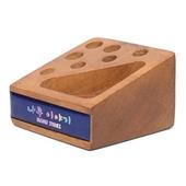 원목큐브B 데스크용품 (펜&클립) 사무용품