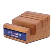 원목큐브C 데스크용품 (폰&카드) 휴대폰거치대
