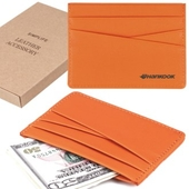 SIMPLIFE 심플라이프 크로스 카드지갑(오렌지)