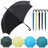 국내제작 65자동 무지 곡자 장우산