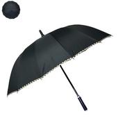 장우산 60 14K 무지검정 체크 장우산