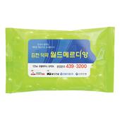 녹색나라 물방울연두 물티슈(5매)