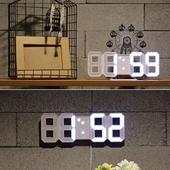 3D LED 탁상 벽 시계