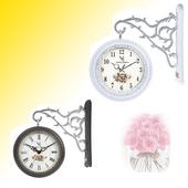 유럽풍 보스렌자 양면시계-벽시계