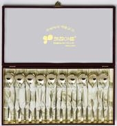 JJ015-A 키친아트 산수화 티타늄수저세트10벌
