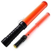 [렌턴/후레시]2단경광봉/싸이렌/안전신호봉/접이식/LED경광봉