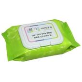 녹색나라 물방울연두캡형 물티슈(30매)