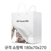 규격 칼라 코팅 쇼핑백 102호