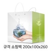 규격 칼라 코팅 쇼핑백 105호