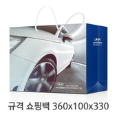 규격 칼라 코팅 쇼핑백 130호
