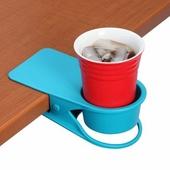 집게형 테이블 컵홀더/휴대폰거치/다용도정리