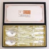 JJ201 B 제노바명품장수거북은수저선물세트