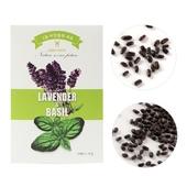 2종 씨앗세트-라벤더&바질