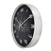 블랙큐빅알류미늄벽시계
