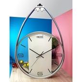 스트랩크롬벽시계