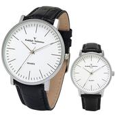 발렌티노 심플라인 손목시계 남녀 2034SB1
