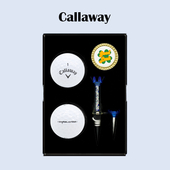 캘러웨이 디아블로 투어 2구 볼마커세트 (3pc) 캘러웨이 골프 선물세트